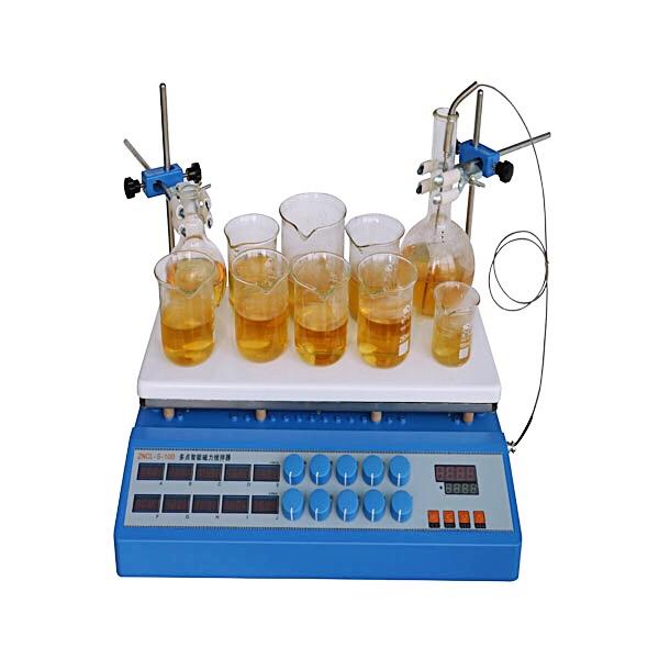 ZNCL-S-10D(新型) 数显十点磁力(加热板)搅拌器