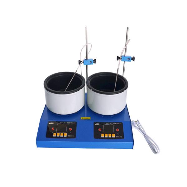ZNCL-DL-G2型 数显多联磁力(加热锅)搅拌器